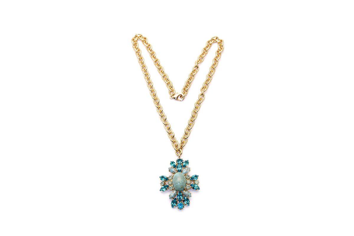 COLLANA SWAROVSKI Crystals Ravenna Italy