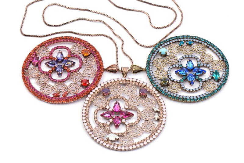 ожерелья SWAROVSKI Crystals Ravenna Italy