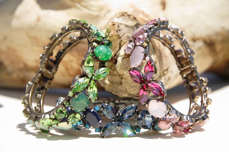 Браслеты SWAROVSKI Crystals Ravenna Italy